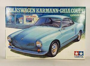 1966 volkswagen karmann-ghia tamiya model kit 1/24 scale