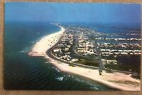Vintage C-36 Clearwater Beach Florida Looking Northward From The Water Pass