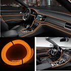 3M 12V Car Vehicle Ambient Interior Orange Cold Light Strip Atmosphere Neon Lamp