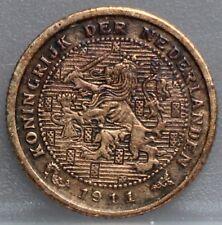 Nederland - The Netherlands 1/2 cent 1911 - halve cent 1911 - KM# 138 - nice!