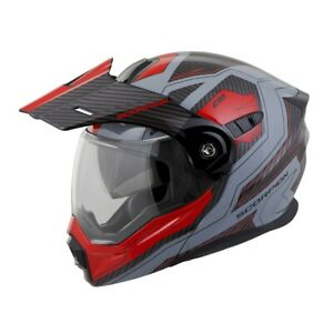 2019 Scorpion EXO-AT950 Tuscon Motorcycle DOT Street Helmet - Pick Size / Color