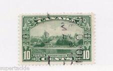 1935 Canada #215 Θ VF KGV Jubilee 10c Windsor Castle. Very Fine