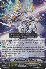 Cardfight!! Vanguard Sanctuary Guard Dragon - MT01/001EN - TD Near Mint