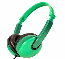 Snug Plug n Play Kids Headphones for Children  Green