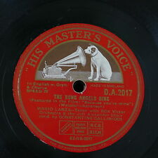 78rpm MARIO LANZA the song angels sing / because you`re mine