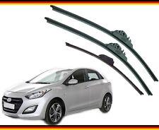 "Hyundai i30 2012 2013 2014 2015 2016 2017 alca Germany Wiper Blades 26""14""H 13""X"