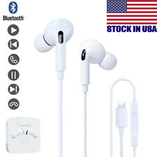 Wired Headphones Headset For iPhone 7 8 Plus X XS MAX XR 11 Pro SE Earbuds Gift