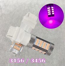 Reverse Backup Light T25 3156 3456 92 LED Purple Bulb Lamp W1 For Ford A