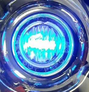 10) PETERBILT KENWORTH  3/4 3 BLUE LED CLEARANCE LIGHTS W/ CLEAR LENSE 39936