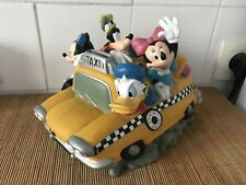 Tirelire Disney Taxi New York Mickey Minnie Pluto Donald