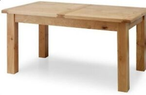Willis & Gambier Dining Table Normandy Collection.. 100% real oak RRP £675