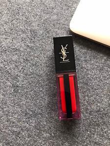YSL yves saint laurent vernis à lèvres water stain Lipstick Lipgloss 612 Rouge D