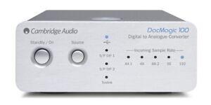Cambridge Audio DacMagic 100 silber Digital Analog Wandler Converter DAC