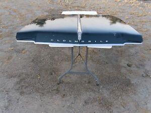 1965 Oldsmobile Starfire Jetstar Dynamic 88 98 Lower Hood Lip Chrome Trim Nice