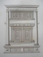 Crispin de PASSE 1642 motif 2 COLONNES LOUIS XIII GRAVURE décoration ADAMS 19éme