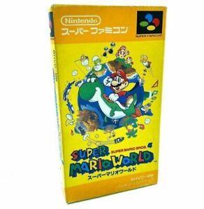 Super Mario World - Nintendo Super Famicom - En boite - NTSC-J JAP