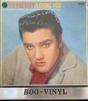 ELVIS PRESLEY LOVING YOU LP German Repress RCA NL81515 EX / EX