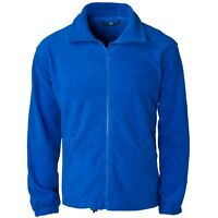 Supertouch Mens Polyester Basic Fleece Jacket Coat Full Zip Work Leisure New