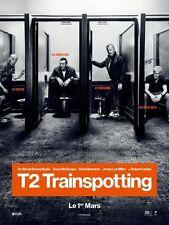 TRAINSPOTTING T2 Affiche Cinéma ROULEE Movie Poster 160x120 DANNY BOYLE