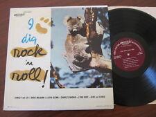 I dig Rock & Roll lp Score Amos Milburn Charles Brown Shirley & Lee Five Keys &&