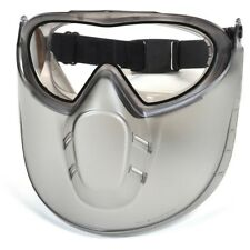 Pyramex Clear Anti-fog Safety Goggles with Adjustable Face Shield