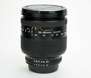 Nikon Nikkor 28-200mm 1:3.5-5.6 D obiettivo zoom lens Nikon AF-D mount