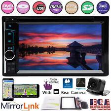 Car DVD Radio Bluetooth Stereo Mirror Link GPS w Camera For CHRYSLER JEEP DODGE