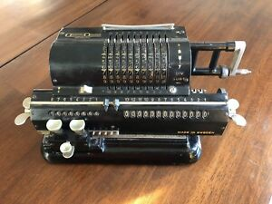 Original Odhner, Vintage mechanical Calculator, pin wheel. # 66777,1924-5 Sweden