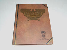 1929 History And Rhymes Of The Lost Battalion by Buck Private McCollum, WWI, VFW