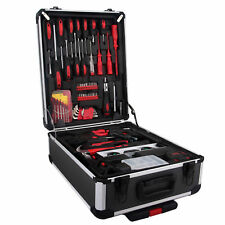 710 pc Tool Set Standard Metric Mechanics Kit Case Box Organize Castors Trolley