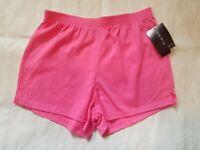 New ENERGIE Women's Size M Medium Hot Pink Cotton Active Shorts