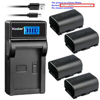 Kastar Battery LCD Charger for JVC BN-VG107 JVC Everio GZ-HM880 Everio GZ-HM890