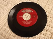 FATS DOMINO I'M IN LOVE AGAIN/MY BLUE HEAVEN  IMPERIAL 5386 RED LABEL