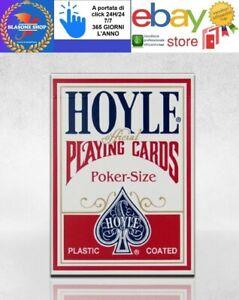 Carte Da Gioco Bicycle Hoyle Poker Standard Mazzo Rosso 🤩🤩