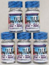 Sleep Walker Capsules 100 Pills (5 Bottles) Focus & Mood Optimizer Sleepwalker