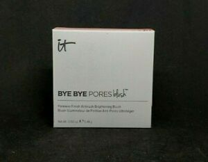 It Cosmetics Bye Bye Pores Blush Poreless Finish Airbrush Brightening Blush Pink