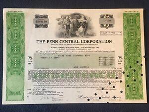Penn Central Corporation●7% Series B Mortgage Bond 1987●any quantity=$1.50 ship