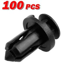 100x Nylon Front Bumper Cover Trim Clips Rivet Retainer for Infiniti EX35 EX37
