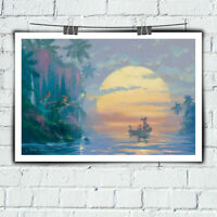 Art Oil Painting Home Decor Disney Peter Pan HD Print on Canvas Captain Jack