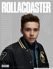 Rollacoaster Magazine 16 S/S 2015, Brooklyn Beckham COVER 1 NEW