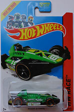 2014 Hot Wheels Hw Race Arrow Dynamic Col. #162 (Green Version)