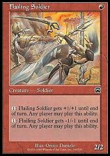 Flailing Soldier FOIL X1 NM Mercadian Masques MTG Magic Cards Red Common