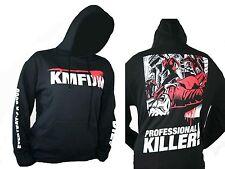 KMFDM - Blood Logo - Kapuzenpulli Hooded Sweater - Größe Size L - Neu