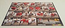 Rockford Icehogs 2013-2014 Autographed 12x18 Poster Signed by 21 Players