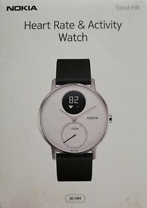 Nokia Special Edition Activity Sleep Tracker Watch Black/White ***