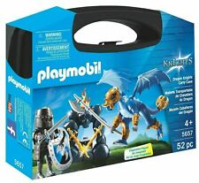 Playmobil 5657 Dragon Knights Carry Case Knight & Dragon Figures