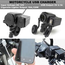 USB Charger Cigarette Lighter For Honda Shadow Aero Phantom VLX 750 1100