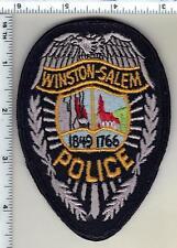 Winston-Salem Police (North Carolina)  Shoulder Patch - from 1990