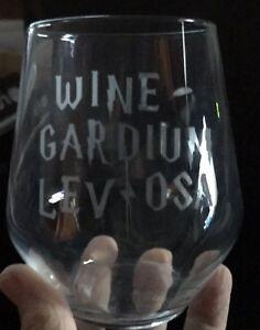 Stemless Wine Glass - Wine Gardium  ***SEE ITEM DESCRIPTION***