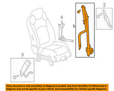 2011-2015 Buick Enclave Front LH Side Seat Belt & Retractor new OEM 19301109